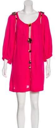 Isabel Marant Silk Textured Dress