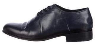 Esquivel Leather Round-Toe Oxfords