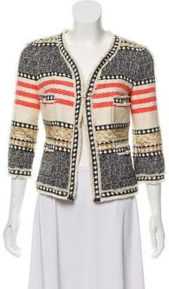 ae02fbce27160 Edward Achour Front Pocket Women s Jackets - ShopStyle