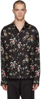 Haider Ackermann Black Freesia Pyjama Shirt