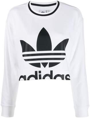 adidas (アディダス) - Adidas ロゴ セーター
