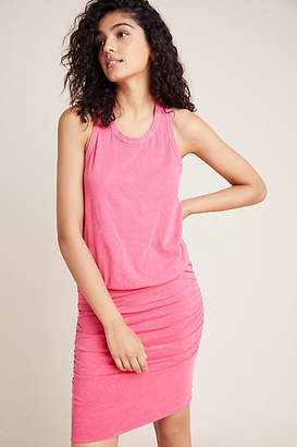Sundry Ruched Sleeveless Dress