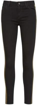Sam Edelman Kitten Mid-Rise Skinny Ankle Tux Jean