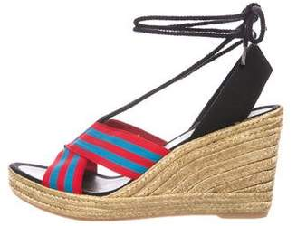 Marc Jacobs Woven Espadrille Wedges