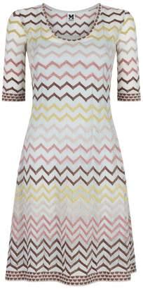 M Missoni A-line Zig Zag Dress