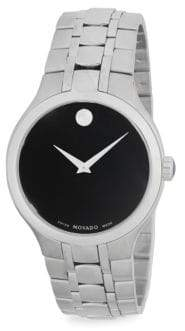 Movado Museum Stainless Steel Bracelet Watch