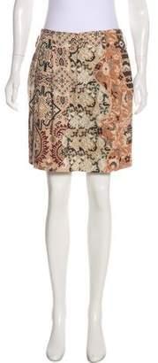Etro Ikat Print Mini Skirt