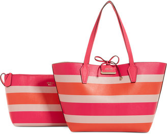GUESS Bobbi Inside Out Tote $98 thestylecure.com