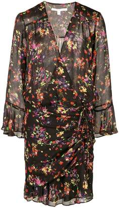 Veronica Beard floral print wrap dress