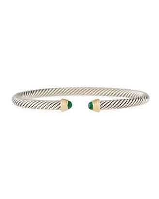 David Yurman Kid's Birthstone Cable Bangle