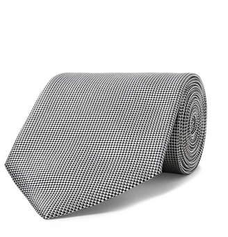 Ermenegildo Zegna 7cm Silk-Jacquard Tie