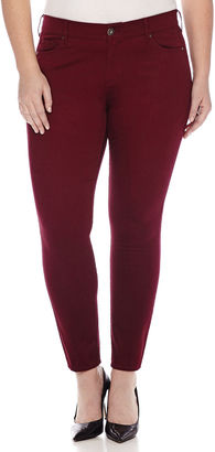 ARIZONA Arizona Sateen Skinny Pants - Juniors Plus $42 thestylecure.com