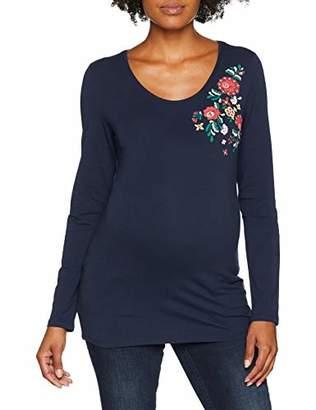 Esprit Women's T-Shirt Ls Maternity Long Sleeve Top,(Manufacturer Size: XL)