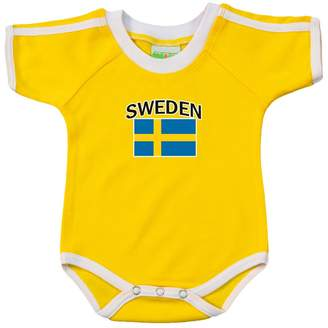 PAM Sweden soccer bodysuit with white piping