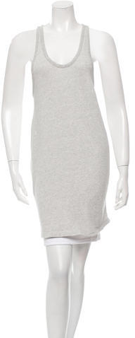 T by Alexander Wang Scoop Neck Racerback Tunic