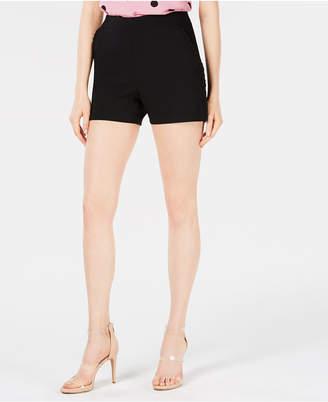Bar III Ruffle-Trim Pull-On Shorts, Created for Macy's