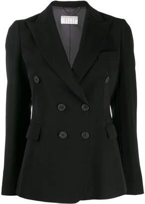Kiltie double-breasted blazer
