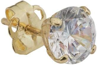 b467f111f Revere Men's 9ct Gold Cubic Zirconia Single Stud Earring