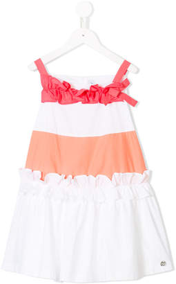 Simonetta ruffle-trimmed dress