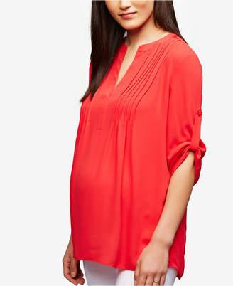 A Pea in the Pod Maternity Split Blouse