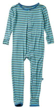 Kickee Pants Print Coverall Anniversary Stripe (Toddler, Little Boys, & Big Boys)