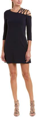Susana Monaco Strappy Shoulder Shift Dress