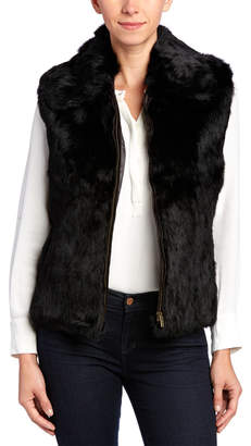 Surell Natural Vest With Zipper