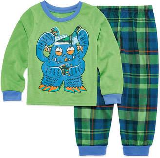 LICENSED PROPERTIES Monster 2 Piece Pajama Set - Boys 4-20