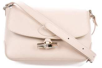 Longchamp Textured Leather Crossbody Bag