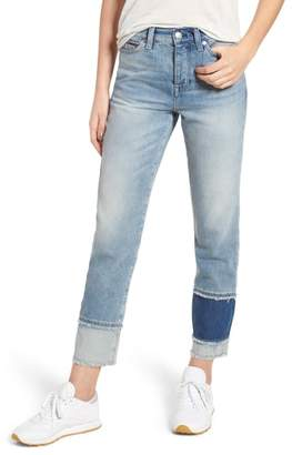 Tommy Jeans Izzy Layered Cuff Slim Leg Jeans