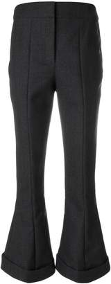 Jacquemus flared cropped trousers