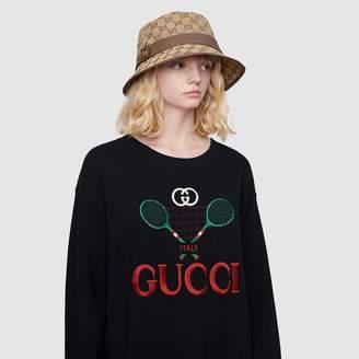Gucci GG canvas fedora