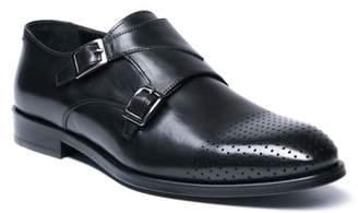 Jared Lang Double Buckle Monk Shoe