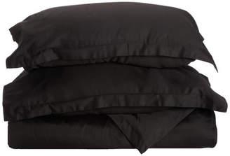 Simple Luxury Reversible Duvet Cover Set
