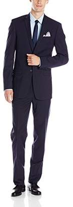DKNY Men's Driver Modern Fit Two Button Suit