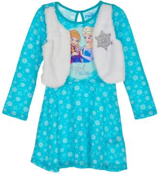 Disney Frozen Little Girls' Toddler Dress