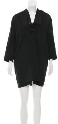 IRO Long Sleeve Mini Dress
