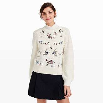 Delmara Embroidered Sweater $229 thestylecure.com