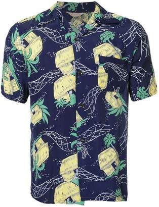 39a55caf Fake Alpha Vintage 1950s John Meigs Hawaiian village print shirt