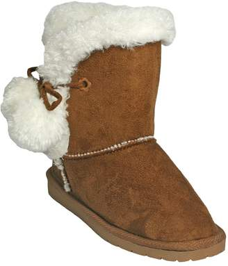 Dawgs Toddlers' Microfiber Side Tie Boots