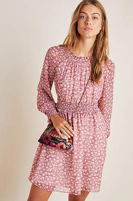 Gal Meets Glam Wimberly Smocked Mini Dress