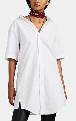 Alexander Wang Women's Chain-Detailed Cotton Oxford Cloth Shirtdress - White