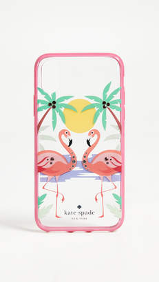 Kate Spade Flamingos iPhone X Case