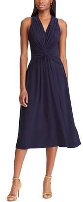 Chaps Petite's Sleeveless Midi Dress