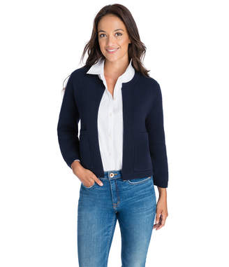 Vineyard Vines Ribbed Open Cardigan