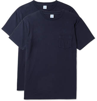 Velva Sheen Two-Pack Slim-Fit Cotton-Jersey T-Shirts