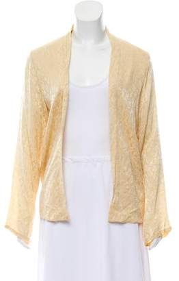 Winter Kate Silk Open Front Jacket