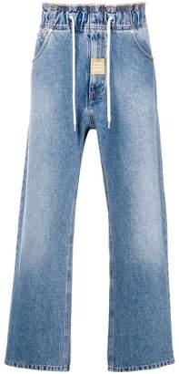 MSGM wide-leg jeans