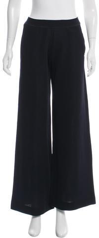ChanelChanel Knit Wide-Leg Pants