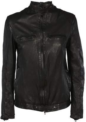 Salvatore Santoro Zip Pocket Leather Jacket